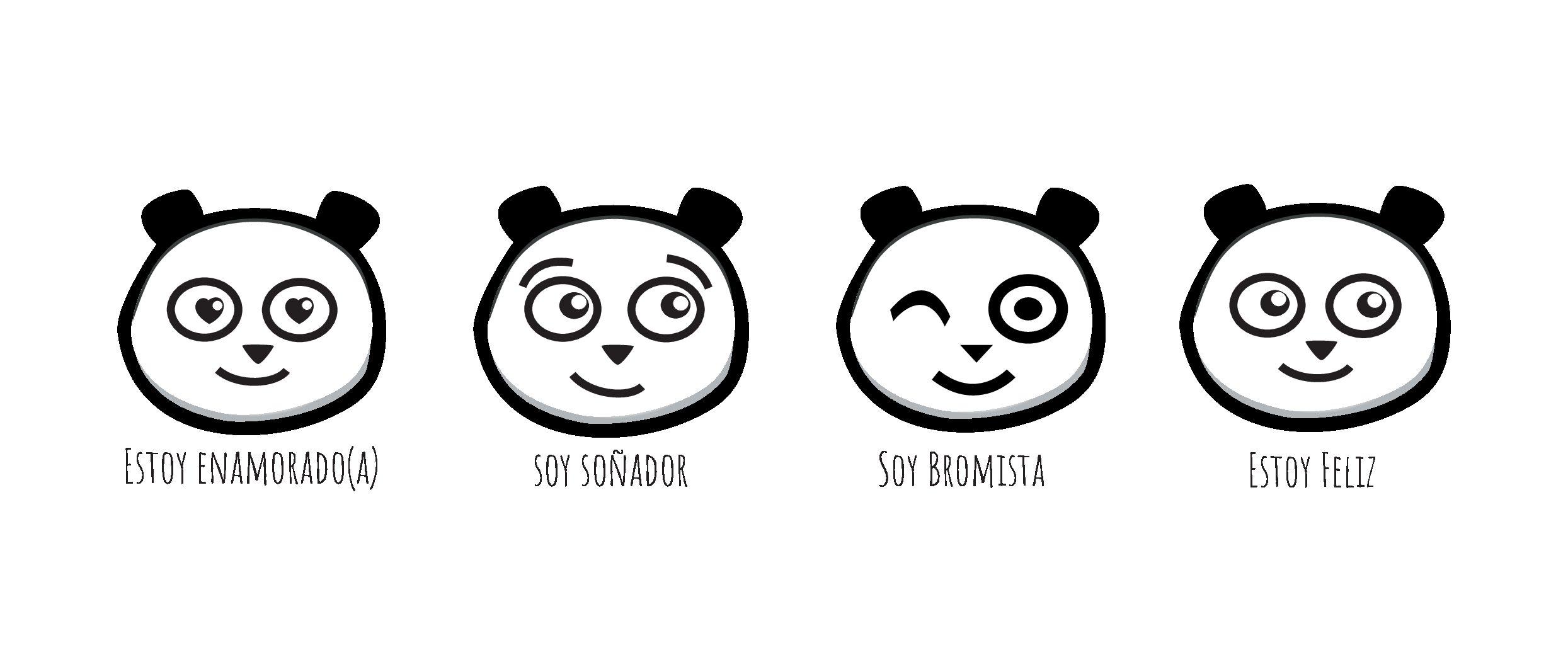 Illustration Panda espangol new